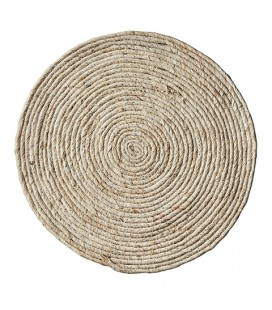 Set de table rond Circle beige