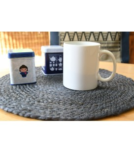 Set de table rond Lilo indigo